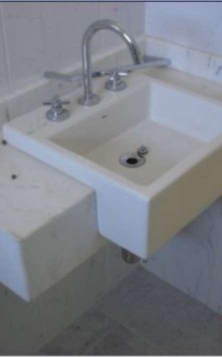 Banheiros em granito e mármore - Foto: 36
