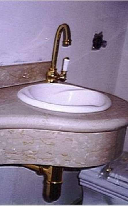 Banheiros em granito e mármore - Foto: 7