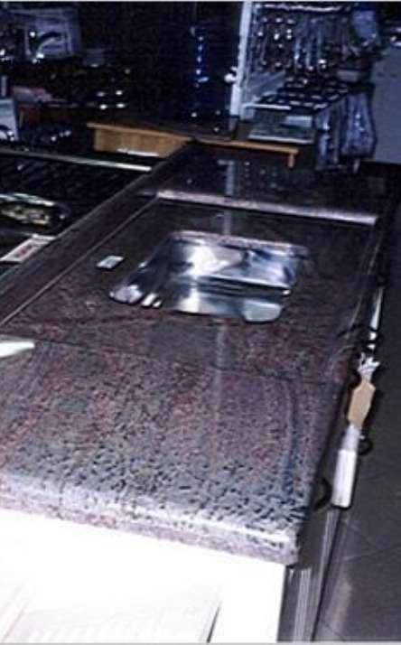 Pias de cozinha em granito e mármore - Foto: 7