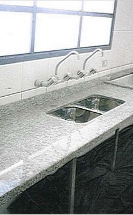 Pias de cozinha em granito e mármore - Foto: 5