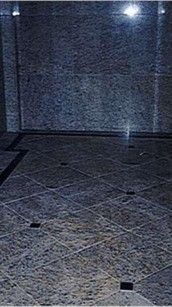 Foto: Halls em mármore e granito