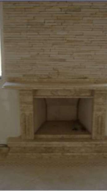 Foto: Lareiras em mármore e granito