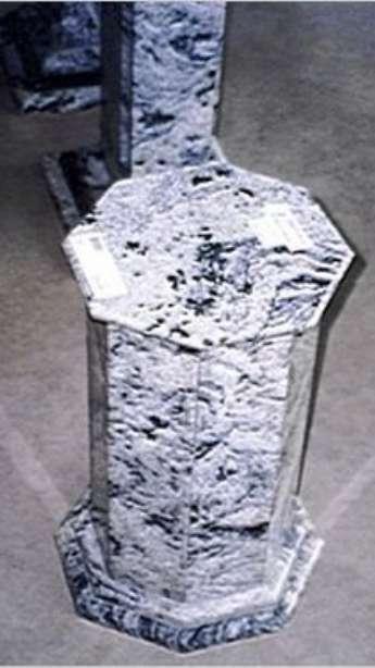Foto: Peças especiais em mármore e granito