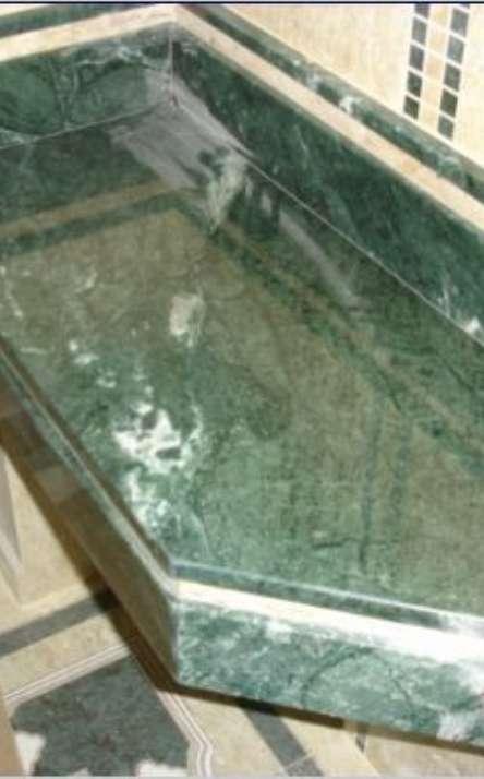 Banheiros em granito e mármore - Foto: 34
