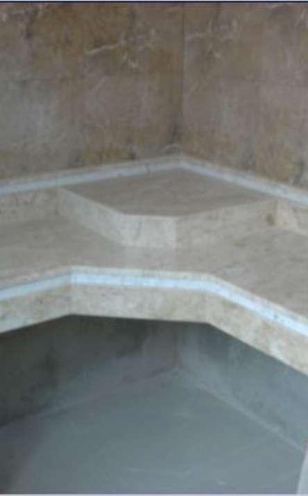 Banheiros em granito e mármore - Foto: 30