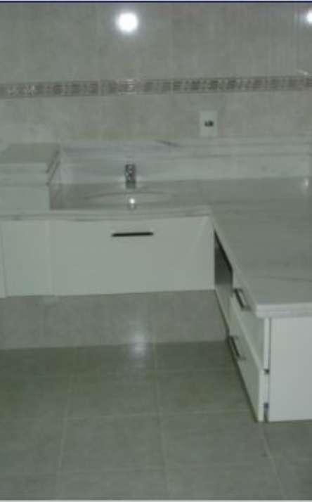 Banheiros em granito e mármore - Foto: 19