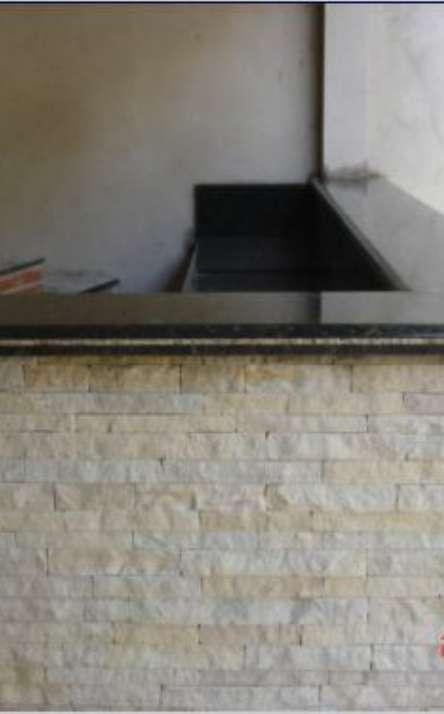 Churrasqueiras com acabamentos em mármore e granito - Foto: 11