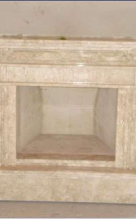 Lareiras em mármore e granito - Foto: 7