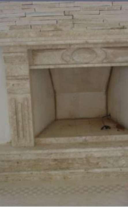 Lareiras em mármore e granito - Foto: 8
