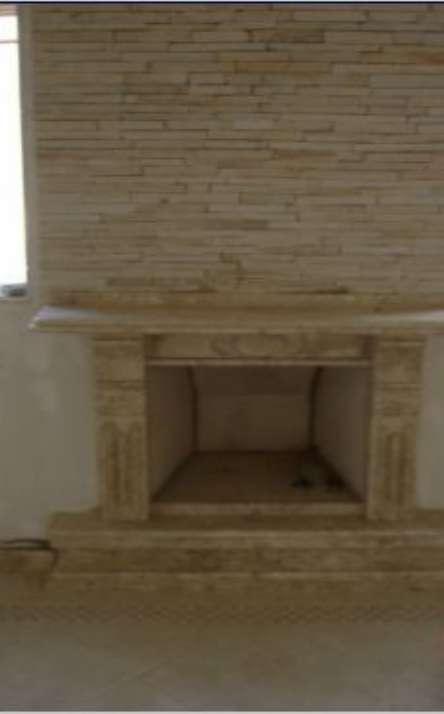 Lareiras em mármore e granito - Foto: 9
